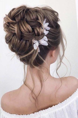 TRENDY WEDDING UPDOS For Super Bride -Long Hairstyles 9