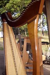 Harpe et guitare…