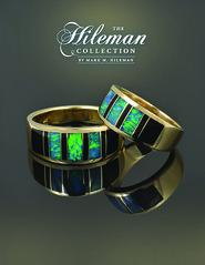 Onyx and Opal Wedding Ring Set