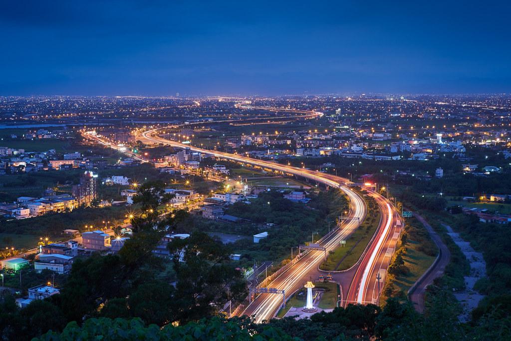 宜蘭県の夜景