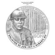 Henry Johnson medal obverse