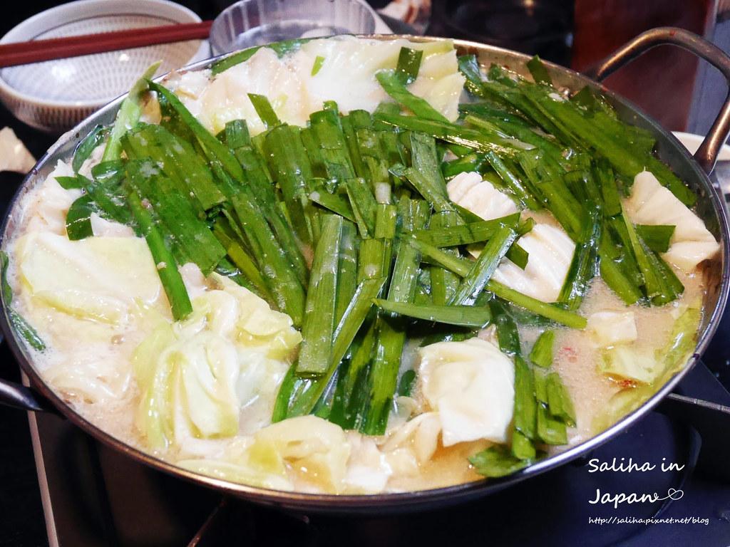 日本九州福岡天神美食笑樂牛腸鍋 (11)