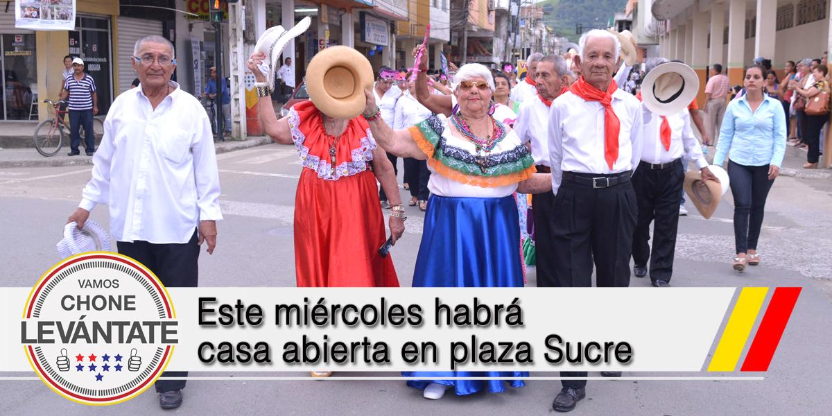 Este miércoles habrá casa abierta en plaza Sucre