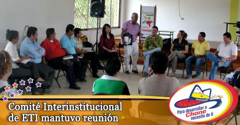 Comité Interinstitucional de ETI mantuvo reunión