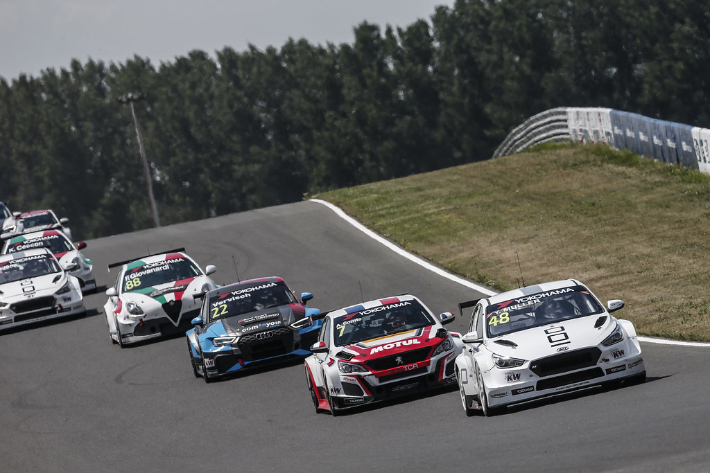 48 MULLER Yvan, (fra), Hyundai i30 N TCR team Yvan Muller Racing, action during the 2018 FIA WTCR World Touring Car cup race of Slovakia at Slovakia Ring, from july 13 to 15 - Photo Jean Michel Le Meur / DPPI