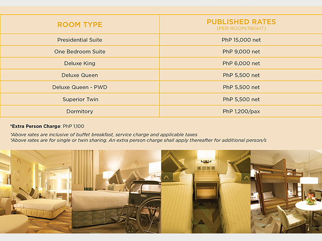 room rates