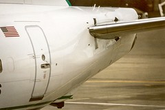 Alaska Airlines Boeing 737 aft fuselage tail from fwd. 04-18-7A (1)