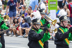 2018 National Independence Day Parade (578) Southwestern High School Band