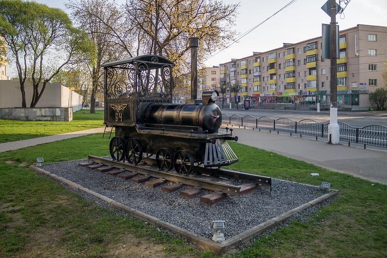 Привокзальная площадь, Витебск