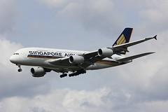 A380 9V-SKS London Heathrow 15.06.18