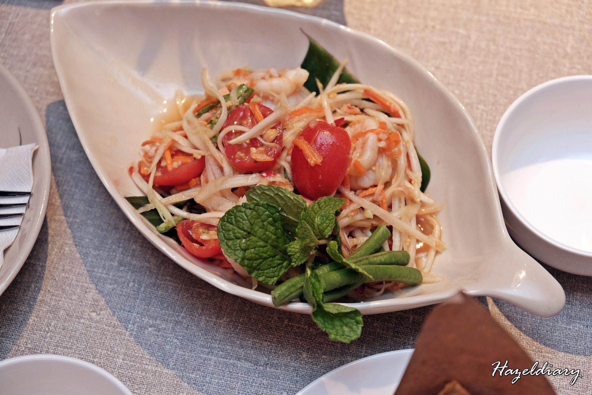 Un Yang Kor Dai-Thai Restaurant-Hazeldiary-Salad