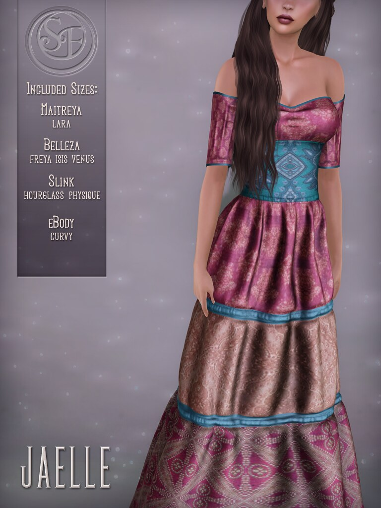 Senzafine . Jaelle Dress Poster