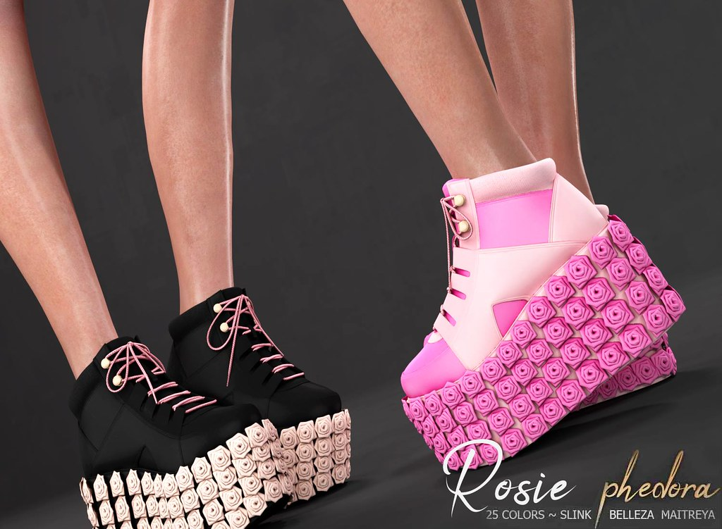 "Phedora. for The Crystal Heart Festival – ""Rosie"" Platforms ♥"