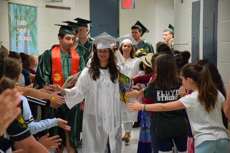 WFSD Elementary Graduation Walkthroughs