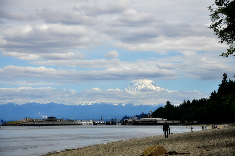 Point Defiance and Rainier @ Mt. Hope Chronicles