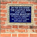 On This Site Stood The Castle Inn Before Which Edmund Beaufort 2nd Duke Of Somerset Was Slain During The 1st Battle Of St Albans 22nd May 1455
