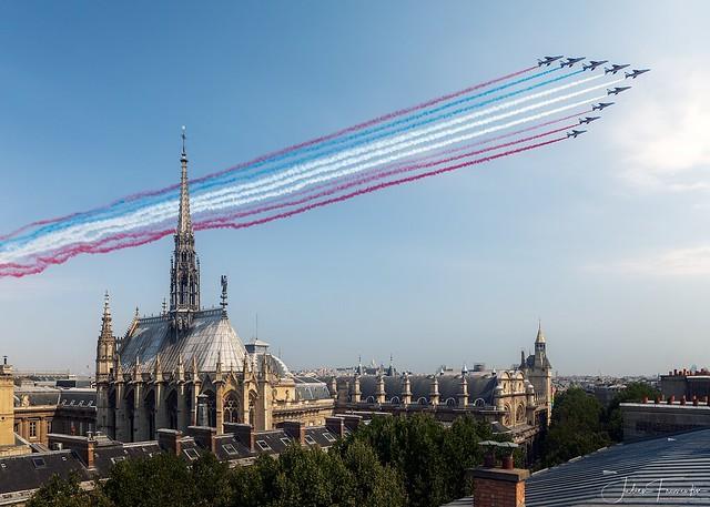Patrouille de France, 14 Juillet 2018, Paris