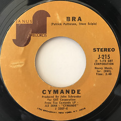 CYMANDE:BRA(LABEL SIDE-A)