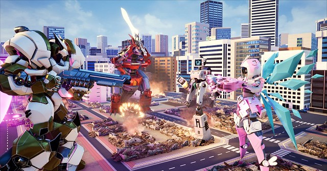 Mech City Brawl 무시