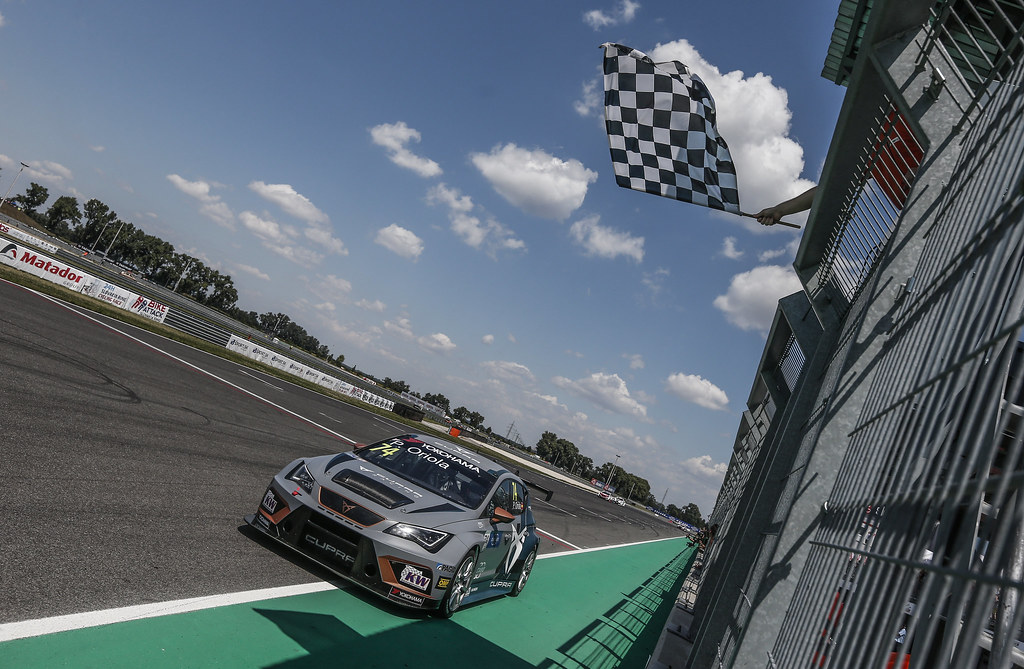 74 ORIOLA Pepe, (esp), Seat Cupra TCR team Oscaro by Campos Racing, action during the 2018 FIA WTCR World Touring Car cup race of Slovakia at Slovakia Ring, from july 13 to 15 - Photo Jean Michel Le Meur / DPPI