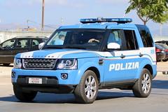 Land Rover Discovery Polizia di Stato