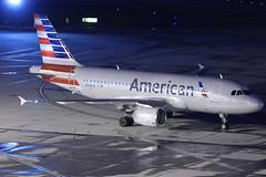 N758US - American Airbus A319