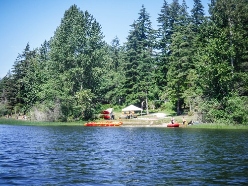 Paddling Lake Padden-036