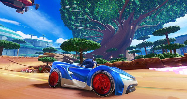 #E3 2018 Team Sonic Racing Screens
