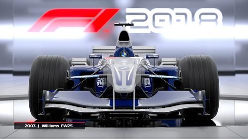 F1 2018 Headline Edition Williams 2003