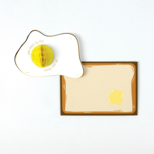 Dear Alchemy, Sunnyside Up Egg Card