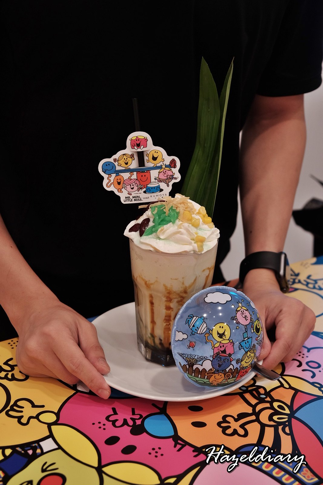 Kumoya Mr Men Little Miss-Chendol Gula Melaka Frappe