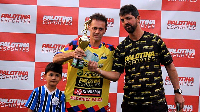 Auto Escola Cometa vence Bizu Disk Bebidas e fatura titulo da 3° Copa Palotina Esportes Máster/40