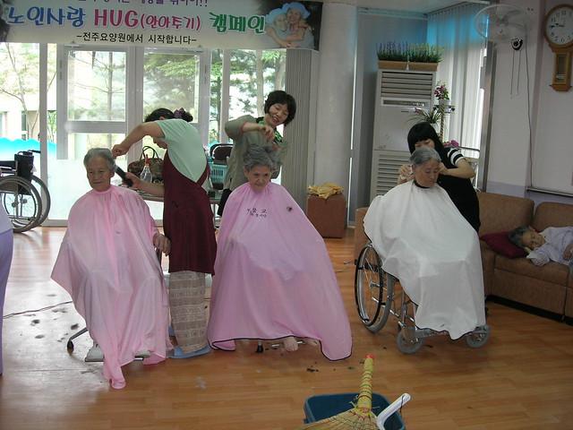 2008년-전북봉공회-전주요양원이미용봉사, Nikon E5900
