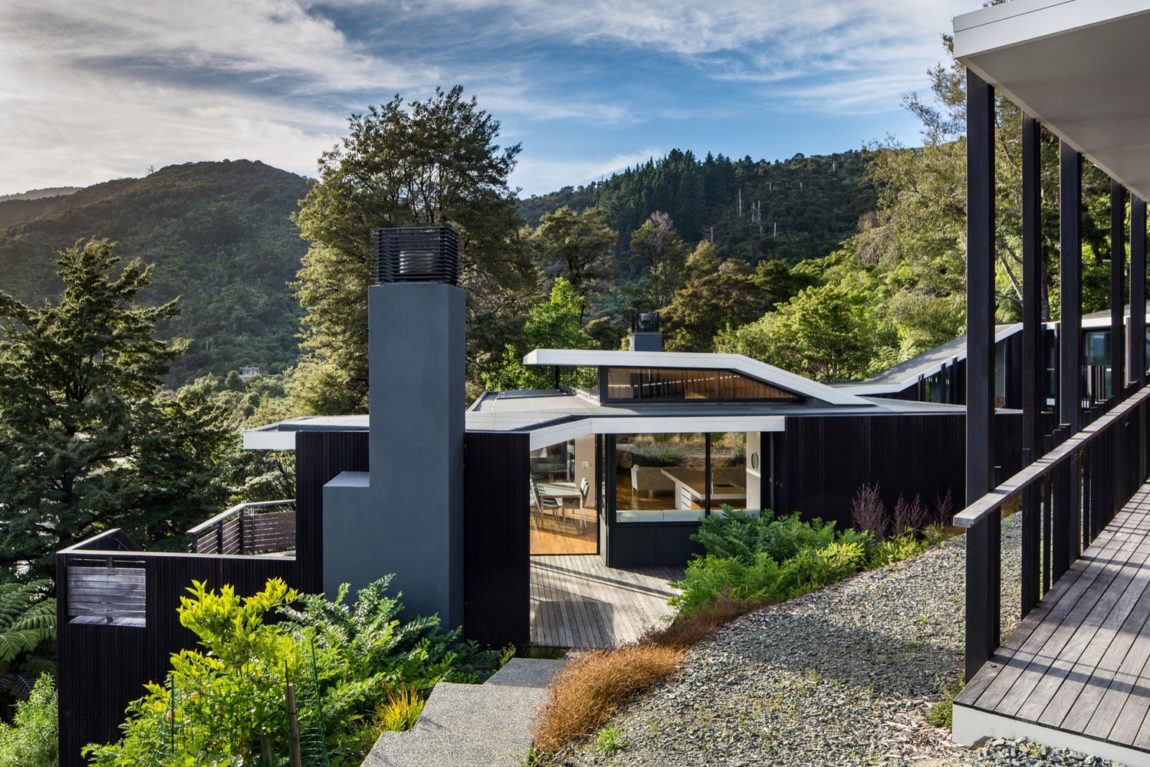Home in Marlborough, New Zealand