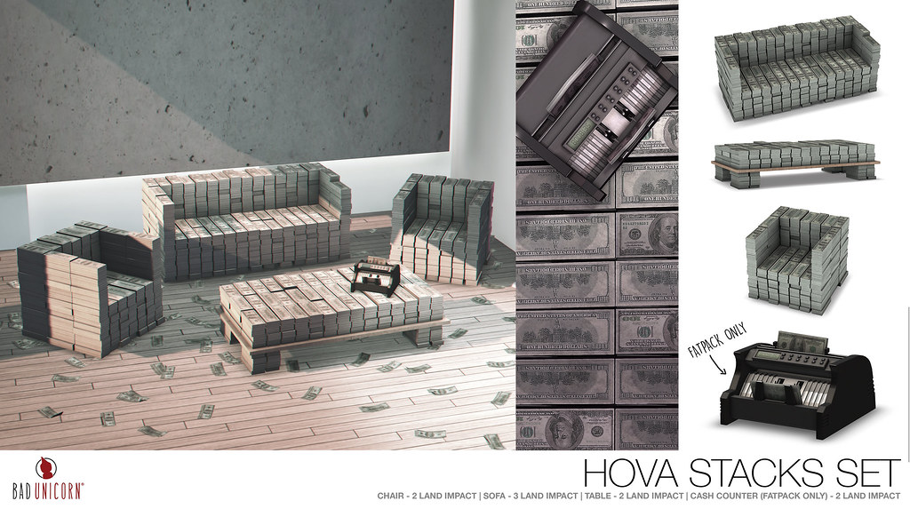 NEW! HOVA Stacks Set @ TMD - TeleportHub.com Live!