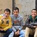 8. Niños saludándome a cámara en Jerusalén