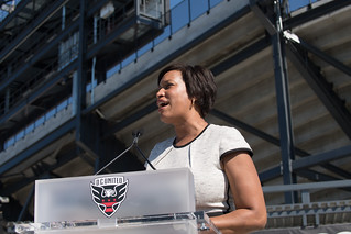 July 9, 2018 MMB Cuts the Ribbon on Audi Field