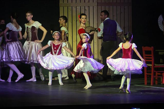 Χορευτική παράσταση Δον Κιχώτης της Σχολής χορού της Ευρυδίκης Μεσσήνη
