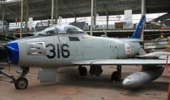 North American F 86F Sabre n° 191-938 ~ 5316