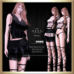 (AD) -AZUL- Maxine