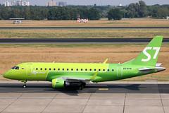 S7 - Siberia Airlines ERJ-170 VQ-BYN departing TXL/EDDT