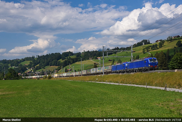 Loetschberg in blue...