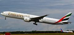 A6-EBZ EMIRATES BOEING 777 NEWCASTLE