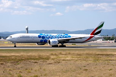 Emirates A6-ENI OSL ENGM Gardermoen