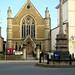 Tewkesbury Methodist Church and Memorial Cross