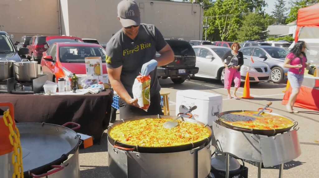 Fire and Rice: Spanish Paella Food Truck Feature