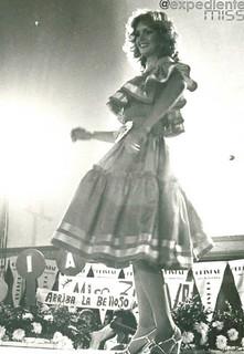 Cristal Montanez Miss Departamento Vargas Miss Venezuela 1977