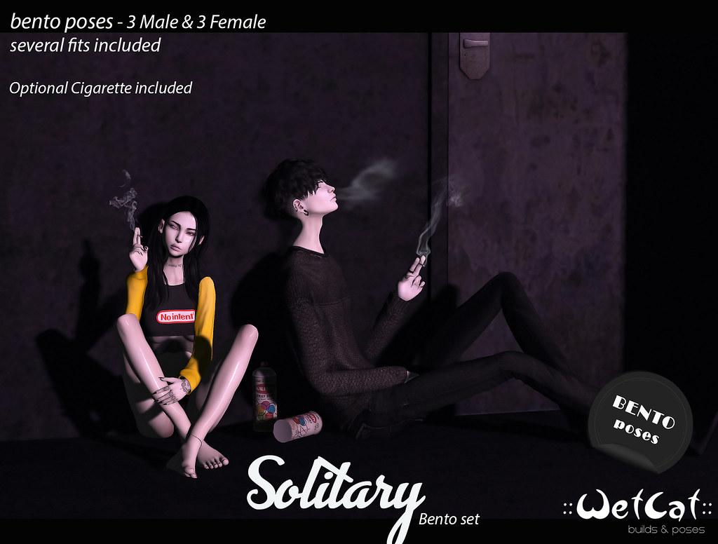 """""""Solitary"""" - Male&Female Bento set - TeleportHub.com Live!"""