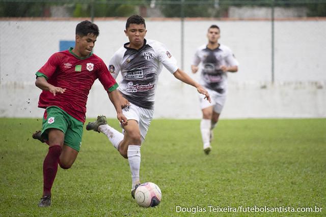 Portuguesa Santista 1 x 2 EC São Bernardo (Campeonato Paulista Sub-17 de 2018)