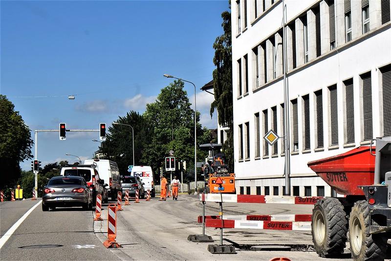 Werkhofstrasse Solothurn, Road Repairs 22.07 (4)